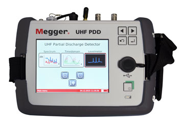 Megger UHF Partial Discharge Detector
